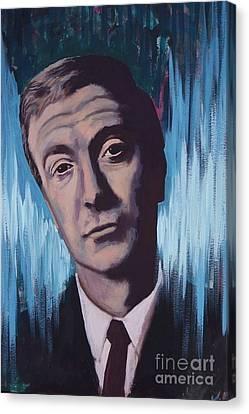 Michael Canvas Print - Michael Caine by James Flynn