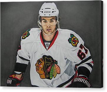 Michael Frolik  Canvas Print by Brian Schuster