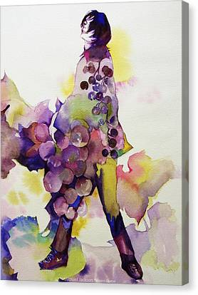 Michael Jackson - Harvest Canvas Print by Hitomi Osanai