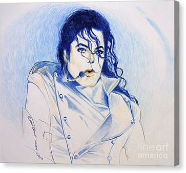 Michael Jackson Canvas Print - Michael Jackson - History by Hitomi Osanai