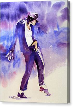 Michael Jackson - Not My Lover Canvas Print by Hitomi Osanai