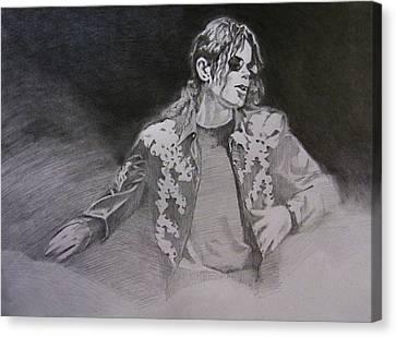 Michael Jackson Canvas Print - Michael Jackson - You Make Me Feel by Hitomi Osanai