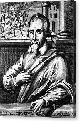 Michael Servetus, Spanish Polymath Canvas Print