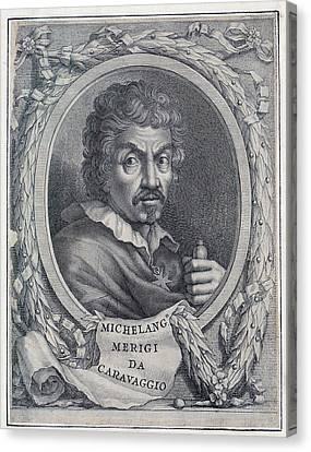 Michelangelo Caravaggio 1871-1610 Canvas Print