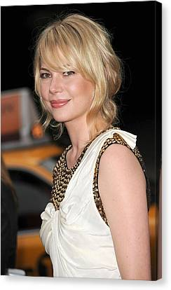 Michelle Williams Wearing A 3.1 Phillip Canvas Print by Everett