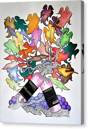 Michigan Wine Canvas Print by Glenn Calloway