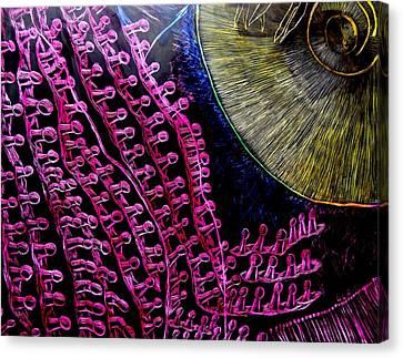 Micro Beetle Phase Two Canvas Print by Lisa Brandel