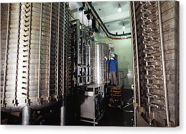 Microbe Fermentation Unit Canvas Print by Volker Steger