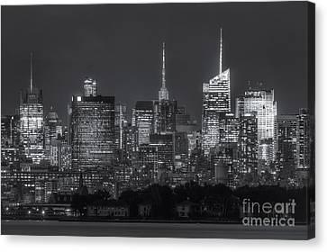 Mid-town Manhattan Twilight II Canvas Print