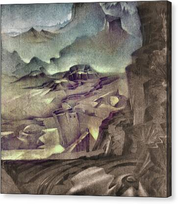 Middle Earth 1981 Canvas Print by Glenn Bautista