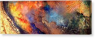 Middle Sky On The Suns Road Canvas Print by Dayton Claudio