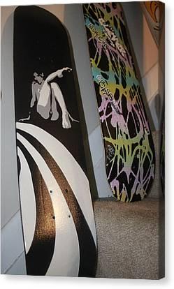 Mike Dawson Decks Canvas Print by Rashaud Thomas