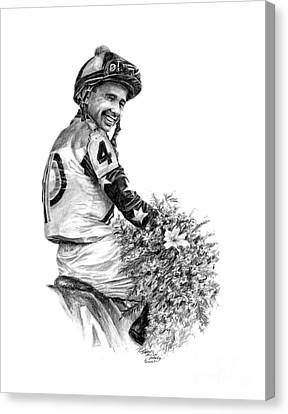Mike Smith Up Canvas Print by Thomas Allen Pauly