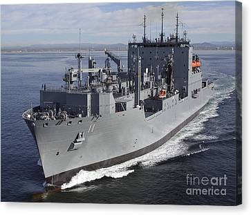 Military Sealift Command Dry Cargo Canvas Print