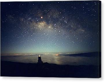 Milky Way Canvas Print by Magrath Photography
