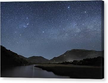 Milky Way Over Wilsons Promontory Canvas Print by Alex Cherney, Terrastro.com
