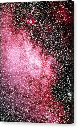 Milky Way Starfield Canvas Print by Dr Juerg Alean