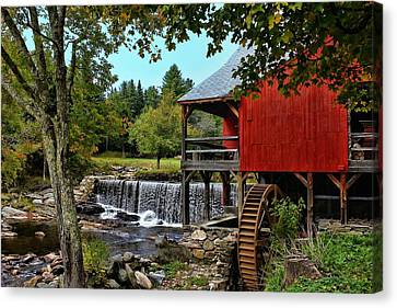 Mill Work  Canvas Print by Lanis Rossi