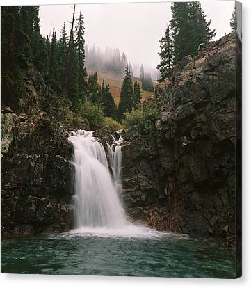 Canvas Print featuring the photograph Mineral Water by Brian Duram
