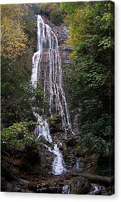 Mingo Falls Canvas Print by Christopher Ewing