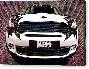 Mini Kiss Canvas Print by Paul Barkevich