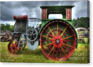 Canvas Print featuring the photograph Minneapolis Threshing Machine Co. by Trey Foerster