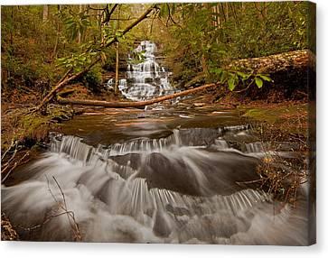 Minnehaha Falls Ga Canvas Print
