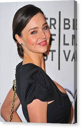 Miranda Kerr At Arrivals For The Good Canvas Print by Everett