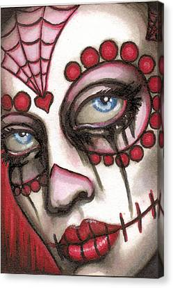 Miranda Canvas Print by Shayne of the  Dead