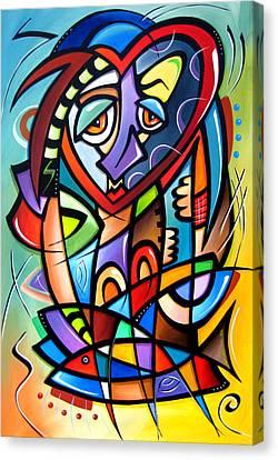 Mirror Mirror Canvas Print by Tom Fedro - Fidostudio