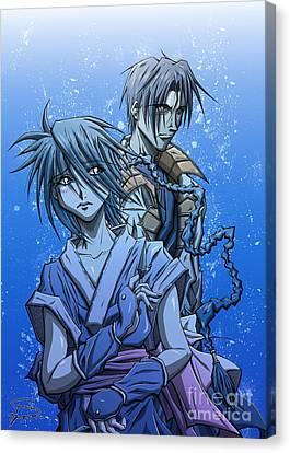 Hollaback Canvas Print - Misao And Aoshi by Tuan HollaBack