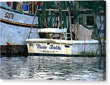 Miss Beth Canvas Print