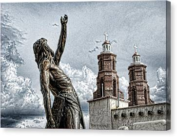 Mission At San Luis Canvas Print