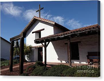 Mission Francisco Solano - Downtown Sonoma California - 5d19300 Canvas Print by Wingsdomain Art and Photography