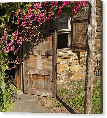 Canvas Print featuring the photograph Mission San Jose 3 by Susan Rovira
