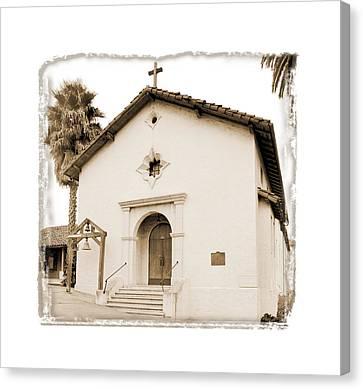 Mission San Rafael Arcangel - II Canvas Print by Ken Evans