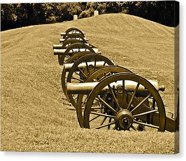Mississippi Remembers Canvas Print by Frank SantAgata