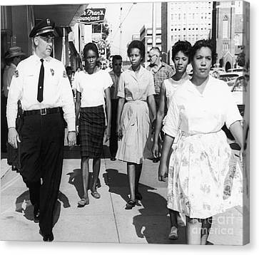 Mississippi: Sit-in, 1963 Canvas Print by Granger