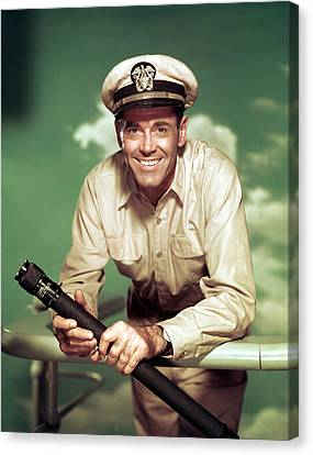 Mister Roberts, Henry Fonda, 1955 Canvas Print by Everett