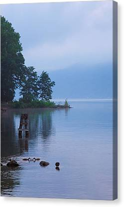 Misty Morning II Canvas Print by Steven Ainsworth