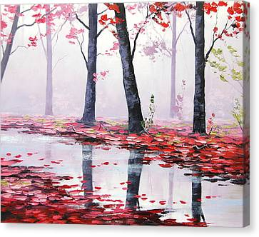 Misty Pink Canvas Print