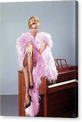 Mitzi Gaynor, Portrait Canvas Print by Everett