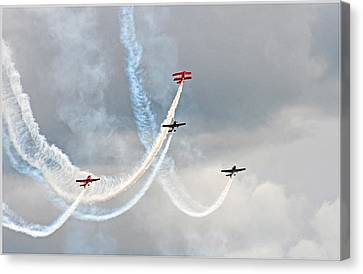 Mixed Aerobatics Canvas Print