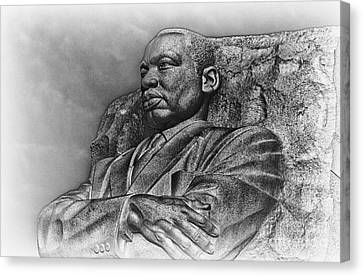 Mlk Memorial Canvas Print by Ursula Lawrence