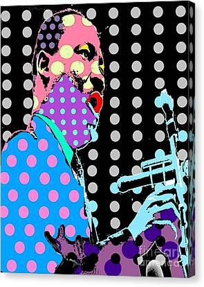 MLK Canvas Print by Ricky Sencion