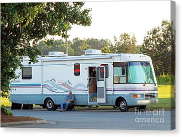 Mobile Home Canvas Print by Renee Trenholm
