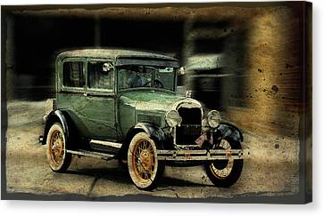 Canvas Print featuring the photograph Model T by Janice Adomeit