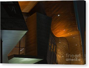 Canvas Print featuring the photograph Modern Abstract by Andrew  Michael