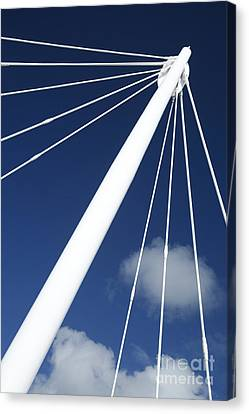 Modern Abstract Structure Canvas Print by Gaspar Avila