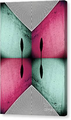 Modern Abstract With An African Theme 1 Canvas Print by Emilio Lovisa